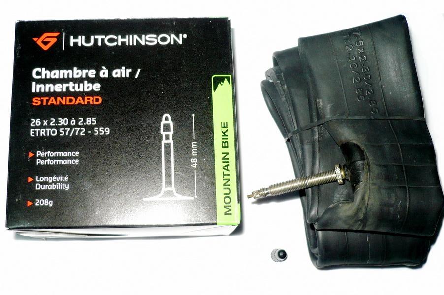 "Hutchinson велокамера 27.5""х2.30/2.85 (584-57/72) F/V-48мм CV657021   а"