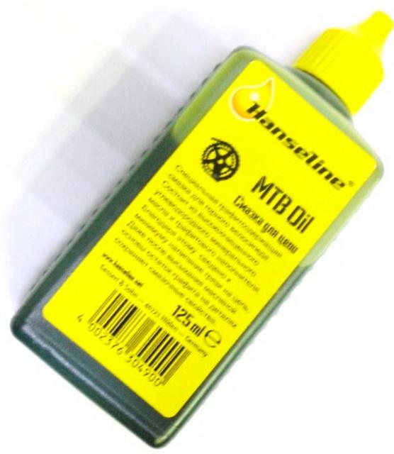 Смазка Hanseline, 304900 для цепи, с графитом, 125мл   в
