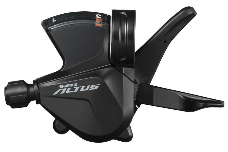 Шифтер Shimano SL-M2000 3ск Altus, чёрный