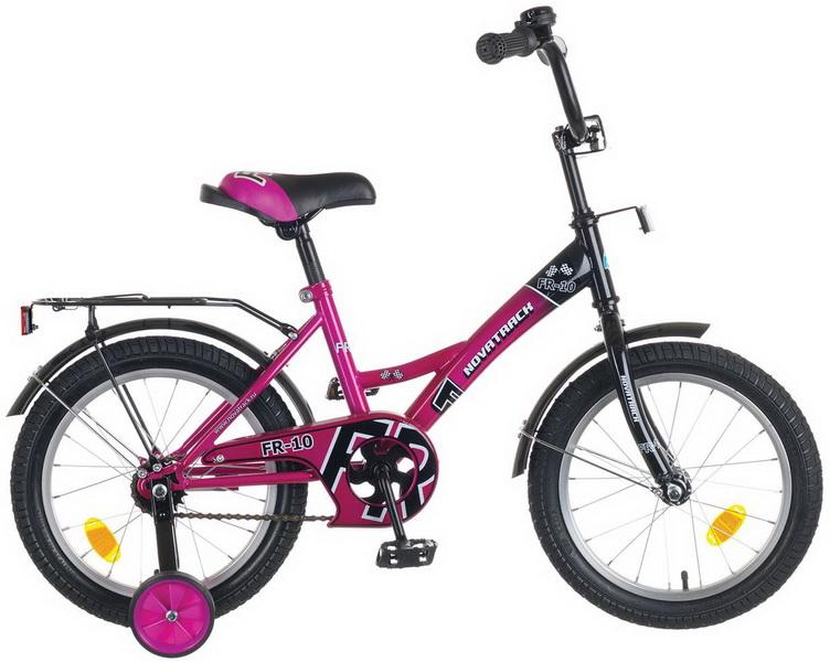 """Велосипед 16"""" Novatrack Fr-10 фиолетовый"""