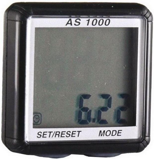 Велокомпьютер Assize, AS1000, 8 функций, беспроводной   м