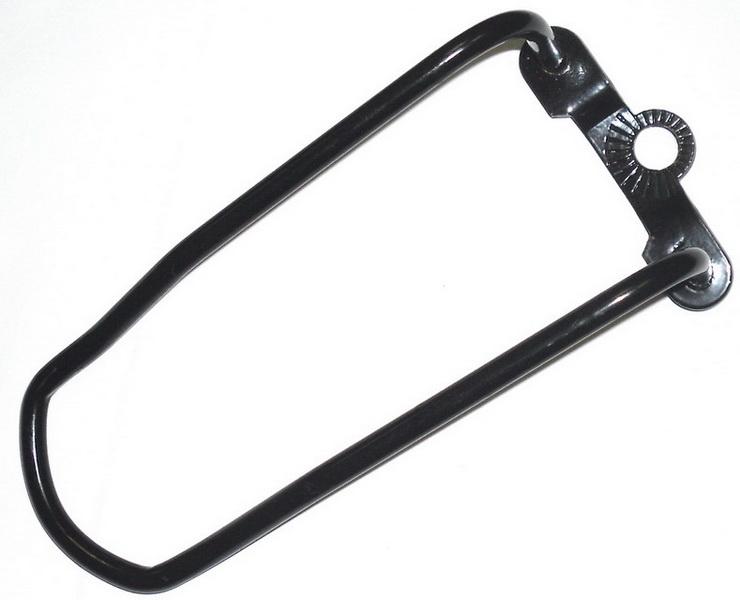 Компоненты Защита заднего переключателя (длинная), под гайку/эксцентрик, St, чёрная   ч