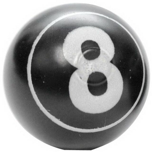 """Колпачок (декоративный) A/V AL Primeaero, NZ-08, шар """"8"""" чёрный *"""