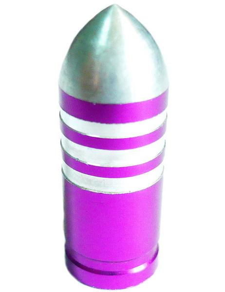 Колпачок (декоративный) A/V AL Primeaero, NZ-B3, пуля фиолетовая с проточками  *