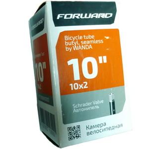 "Велокамера 10""х2.00 (152-54) A/V Wanda (бутил)   ч"
