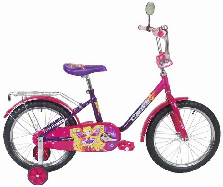 """Велосипед 14"""" Black Aqua Camilla KG1417 фиолетовый"""