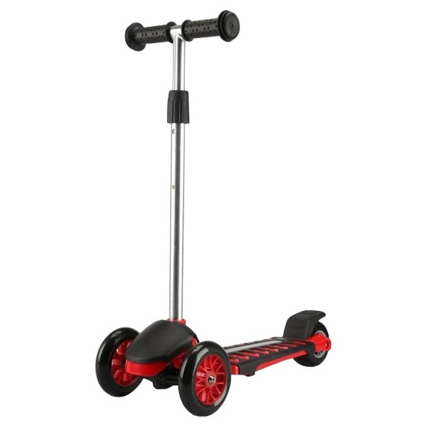 Самокат Moby Kids 64629, 3-х колёсный, красный