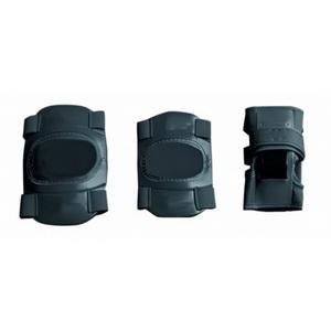 Велоформа Защита детская Ventura, р.S-M, набор (колени+локти+кисти), чёрная (659810)